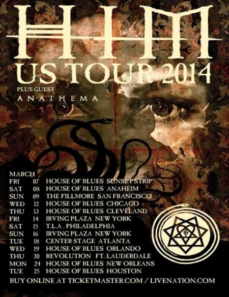 Anathema-H.I.M.-tour