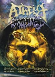 Atheist and Exhumed European Tour 2011