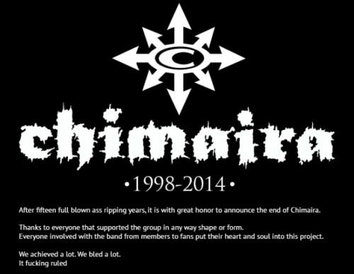 Chimaira-1998-2014