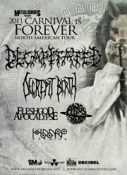 Decapitated tour Poster