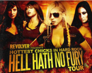 Hell Hath No Fury Tour Poster