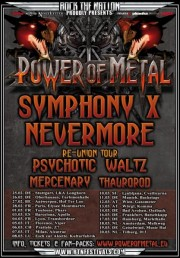 Mercenary - Power of Metal Tour