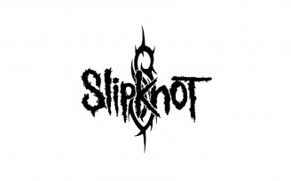 Slipknot-Logo-White-Wallpaper