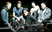 While She Sleeps band