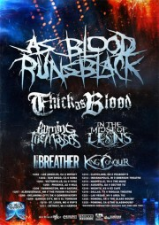 As Blood Runs Black Tour