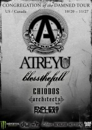 Atreyu - Congregation of the Damned tour