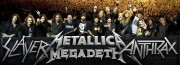 Slayer, Metallica, Megadeth, Anthrax