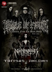 Cradle of Filth Creatures From the Black Abyss tour