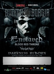 Dimmu Borgir and Enslaved Darkness Reborn tour