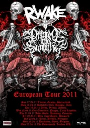 Dragged Into Sunlight European tour 2011