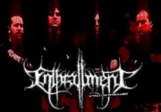 Enthrallment band with logo