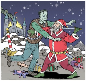 frankenstein-vs-santa-cropped