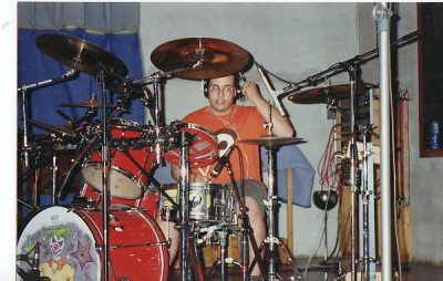 Pat Howland of my first band Melancholy at Bearsville Studios in the early 90's (RIP Pat)