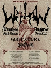 Goatwhore - Watain tour 2010