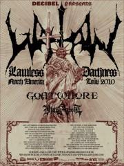 Goatwhore - Watain tour 2010