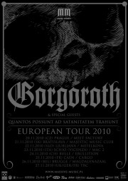 Gorgoroth European tour