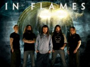 In Flames band with logo