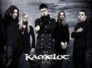 Kamelot band photo with logo