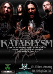 Kataklysm - South Africa Shows