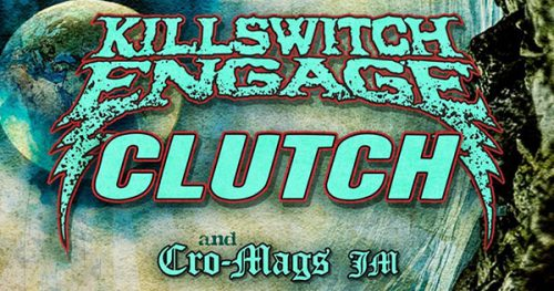Killswitch Engage, Clutch hitting the road – Metal Riot