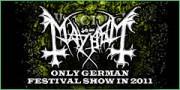 Mayhem - Wacken 2011