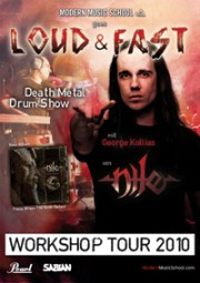 Nile's George Kollias Drum Clinic Tour