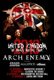 2010 United Kingdom of Heavy Metal Tour
