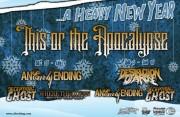 This or the Apocalypse - Winter Tour Flyer