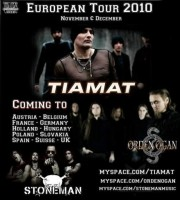 Tiamat European Tour 2010